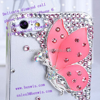 Luxury Style Mobile Phone Back Cover For Iphone 6 & Iphone 6 Plus ...
