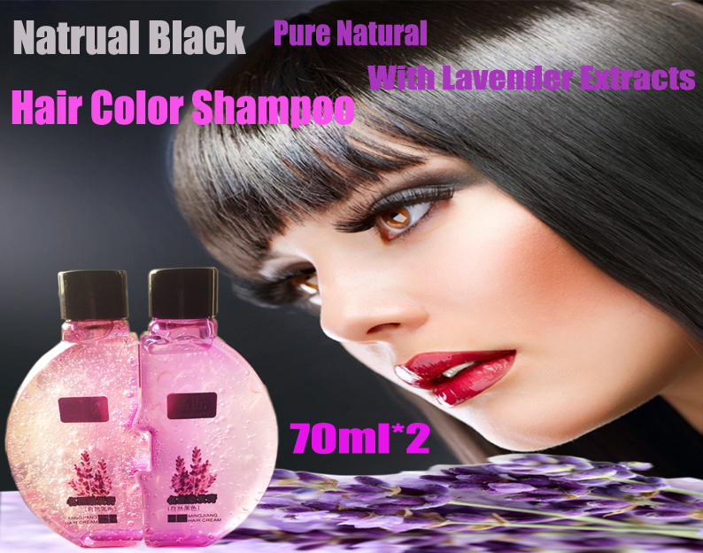 Natural Allergy Free Black Hair Color Black Henna Dyes Cover Gray ...