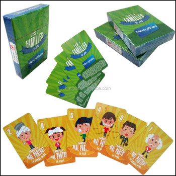 paper kids playing cards colors design printed children flash game cards - Printing With Children