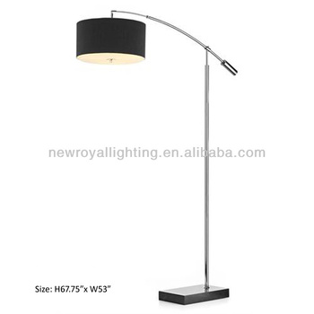 Hotel lamphospitality lampfloor lampsmodern brushed nickel floor hotel lamphospitality lampfloor lampsmodern brushed nickel floor lamp with black aloadofball Choice Image