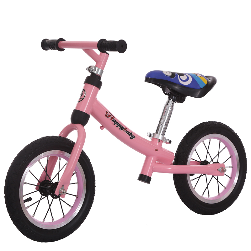 "2018 hot sale 12"" aluminum balance bike for kids/no pedal aluminum alloy balance bike air tire/kids bike for 1 year old baby"