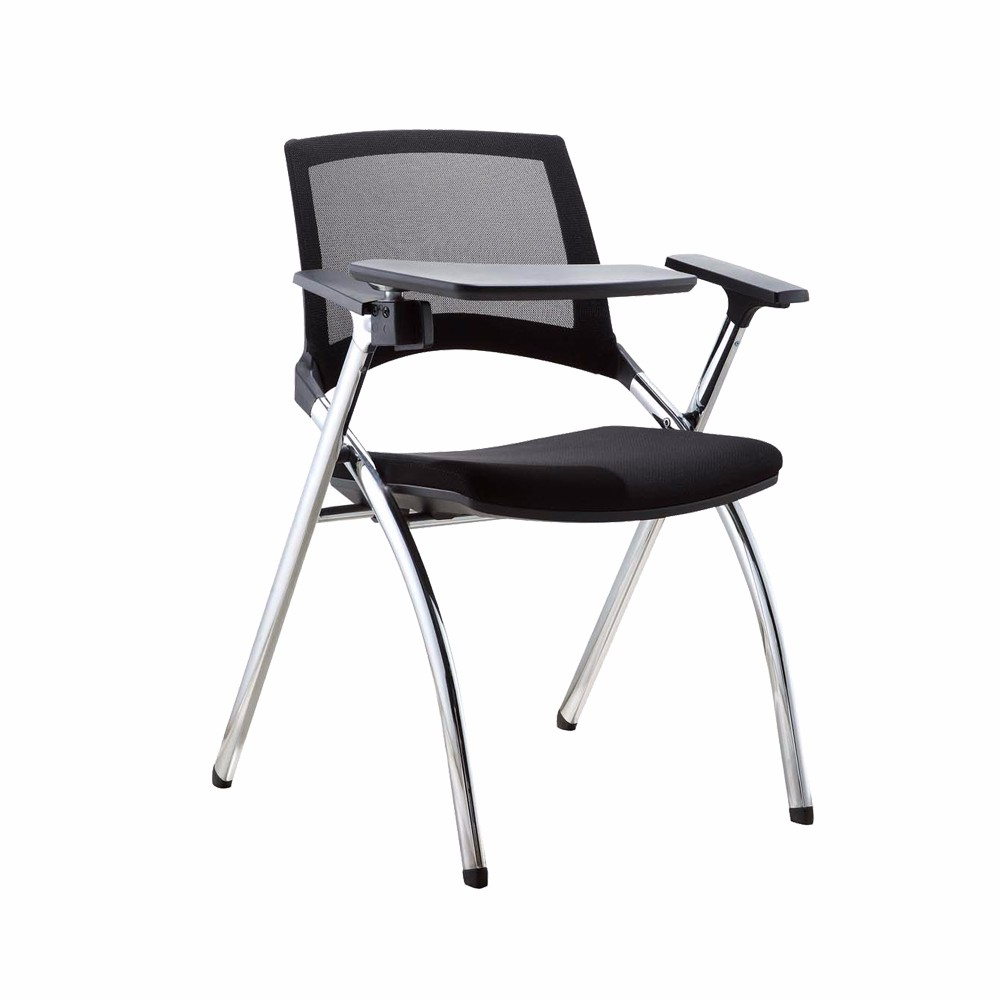 Pp Armrest Classroom School Student Folding Study Chairs