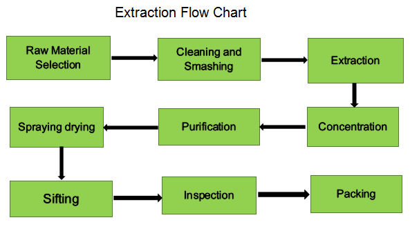 Extraction flow chart-Realin