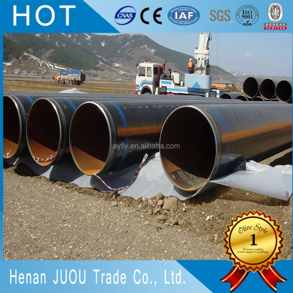 7 inch aluminized steel exhaust pipe for oil or fluid