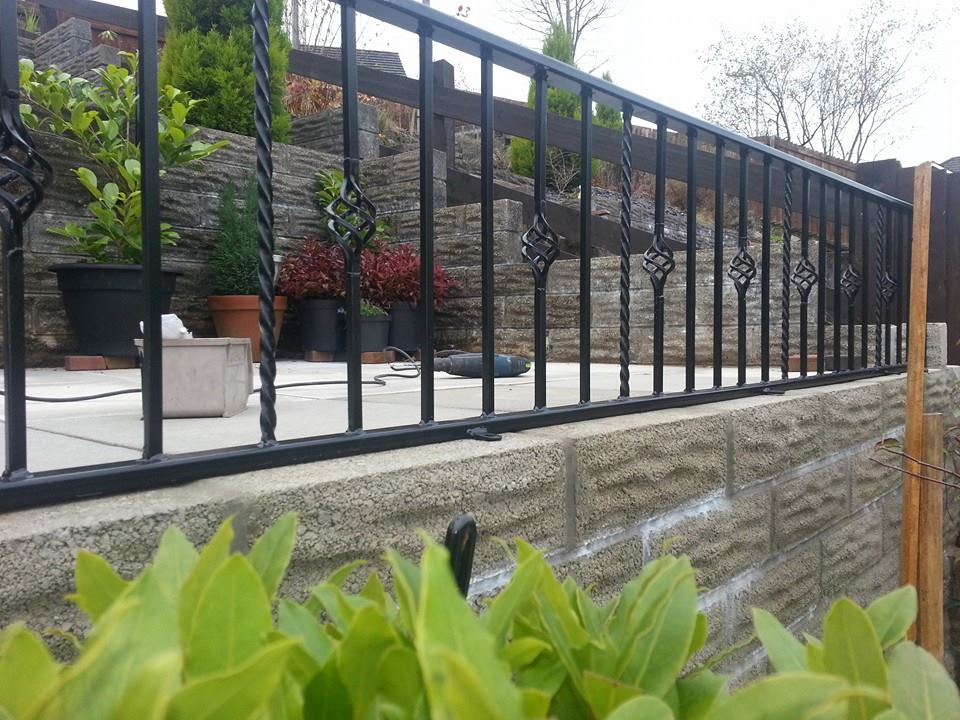 Cheap Iron Fence Philippines/wrought Iron Fence Designs/boundary Wall Design