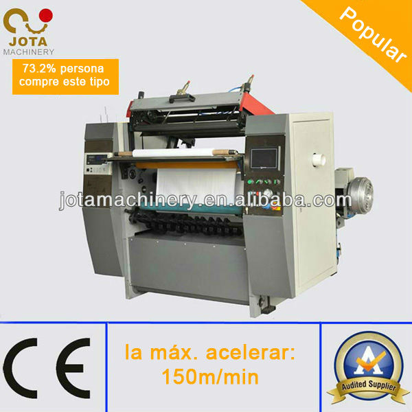 High Efficiency Fax Paper Jumbo Roll Slit and Rewind Machine