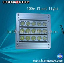 High lumens 100w led flood light for 400w metal halide floodlight replacement 80% elelctrical bill saving