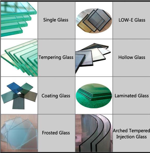 Preço Comum Perfil de alumínio não térmico série LIMENG 50 Janelas inclinadas e giratórias