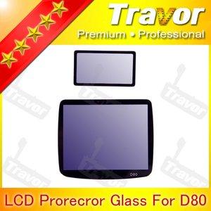 Professional Digital Camera LCD Screen Protector for Nikon D80