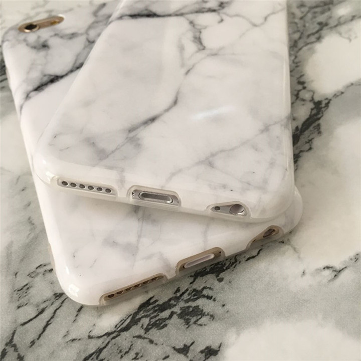Anti-Scratch Shockproof Cover For iPhone 6 Marble Case for iPhone 6S