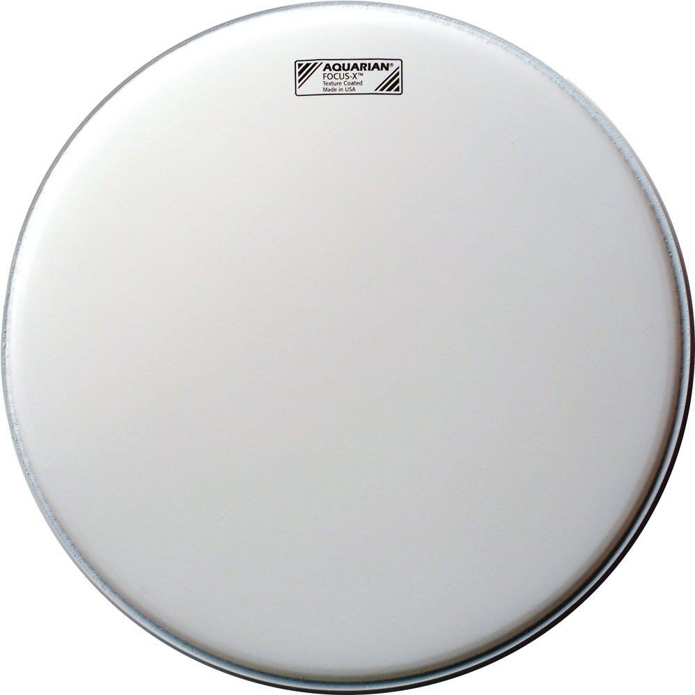 Aquarian Drumheads TCFX10 Coated Focus-X 10-inch Tom Tom/Snare Drum Head