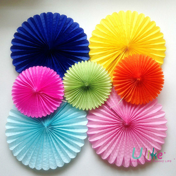 Paper Folding Flowers Magic Tissue Paper Flowers Hanging Tissue