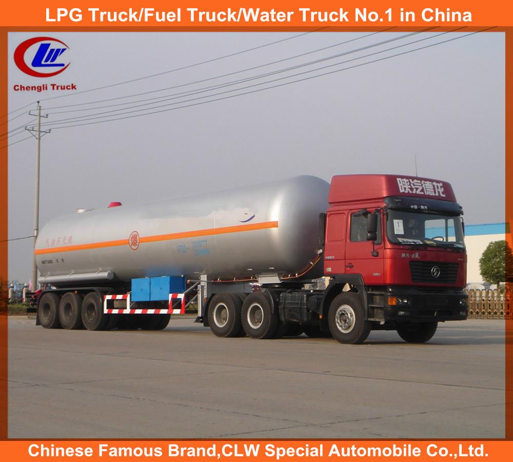 Iso Propane 58.5cbm 3 Axle Propylene Lpg Gas Tank Semi ...