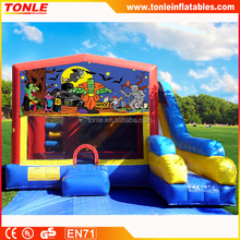 hot sale inflatable Halloween Bounce House combo/ inflatable jumper combo/ inflatable jumping castle for sale