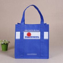 Large Custom print Reusable bag non woven grocery tote bag