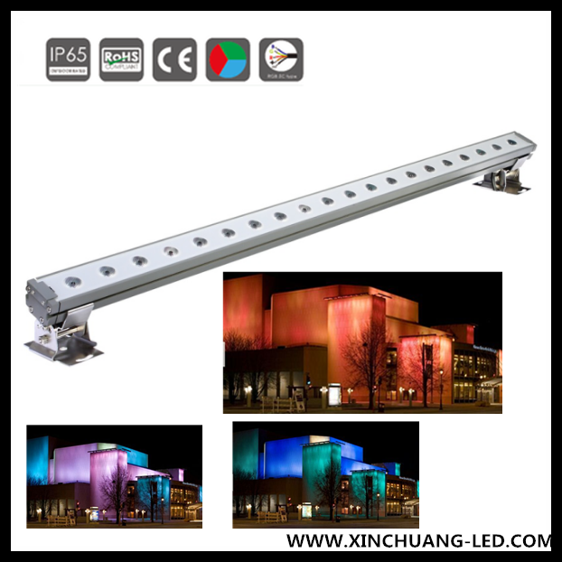60w Led Linear Rgb Architectural Lighting Wall Washer