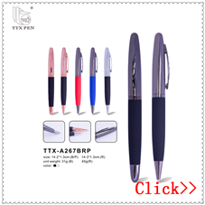 Manufacturer for roller pen fashion metal roller ball pen advertising raw materials of roller ball pen