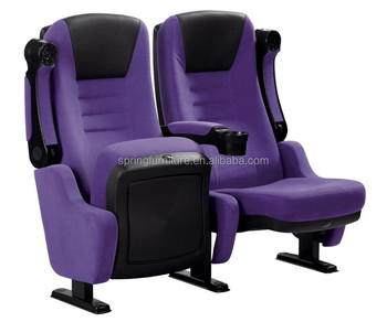 Modern Design Cinema Theatre Chairs With Rocking Motion Mp03