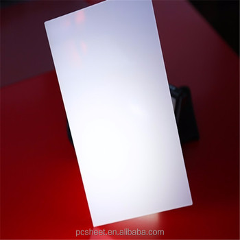 Opal Pc Sheet For Led Lighting Polycarbonate Light Panel Difuses Product