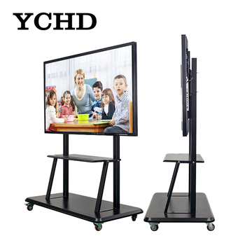 "65"" IR Multi Touch Screen Monitor classroom portable wireless whiteboard"