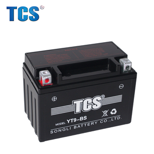 2018 Brand New lead acid battery manufacturer in China motorcycle battery 12v 9ah with best price YTX9L-BS(SEA)