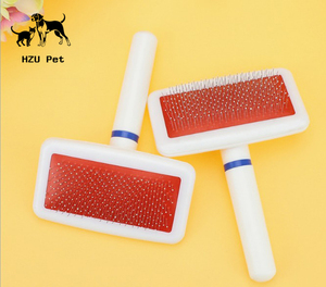 Dog Grooming Comb Dog Brush Stainless Steel Pins Brush Pet Comb