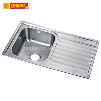 Various style commercial hand washing undermount single bowl 304 Kitchen Sink