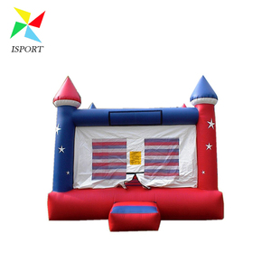 America star flag bouncing castle for kids / Commercial Inflatable All American bouncing castle