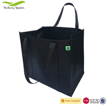 High Quality Folding Reusable Shopping Tote Bag Recycle 120gsm Non-woven Shopping Bag Supplier
