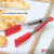 "16""Heat resistant bbq food tongs 1216 stainless steel handle silicone tongs bread tongs"