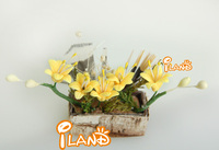 1/12 Dollhouse Miniature Plant/Flower yellow lily OP011B