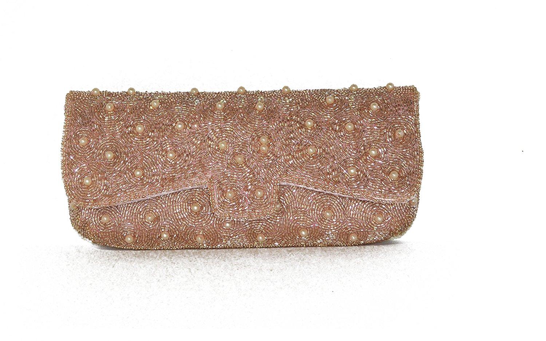84185de6d9 Get Quotations · Sunny Shining Handmade Beaded Crossbody Handbag Evening  Clutch Party Purse