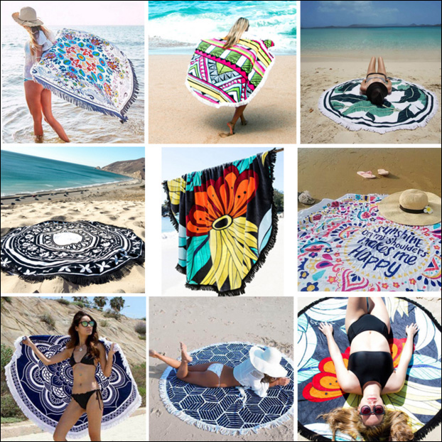 Hot selling summer cover sunproof Custom print beach <strong>towel</strong>
