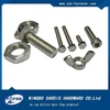 China Factory DIN933 din931 stainless steel nut and bolt / stainless hex bolt a2-70