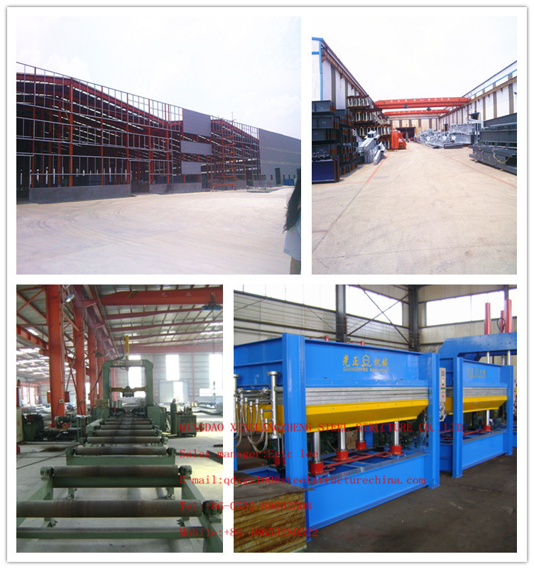 china light structure work fabrication frame workshop/plant/warehouse