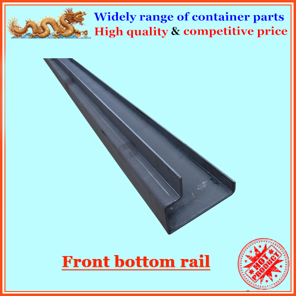 Corten steel container front bottom rail