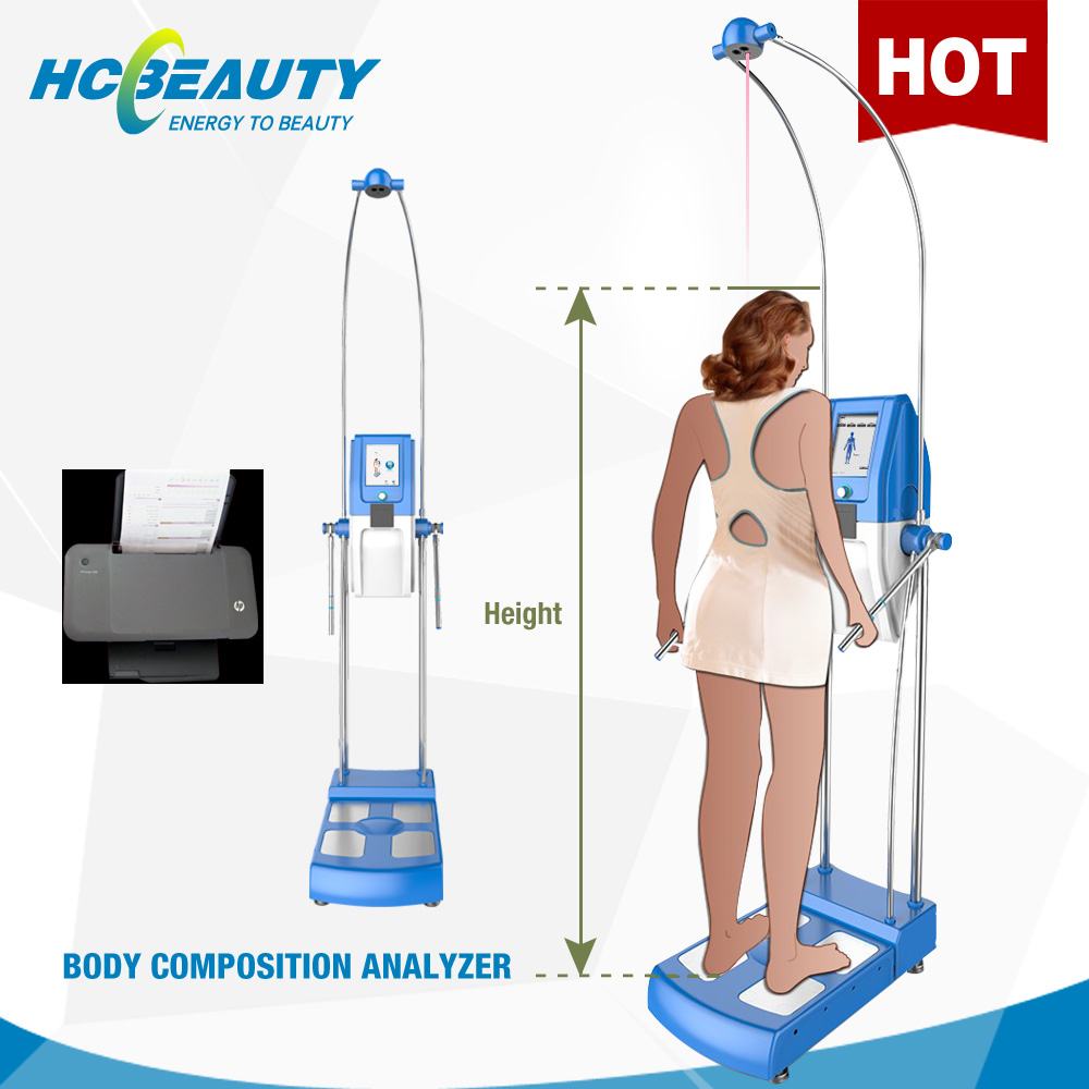 new health products body composition and wellness analyzer