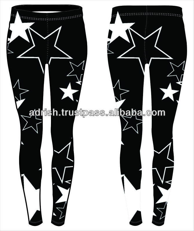 2014 Latest Design Wholesale Korean Fashion Girl Bohemi Comic Graffiti Women And Animal Sex Photo Women Leggings