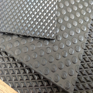 Anti-slip Button Outdoor Safety Rubber Dot Pattern Flooring Mat For Garage Rubber Sheets