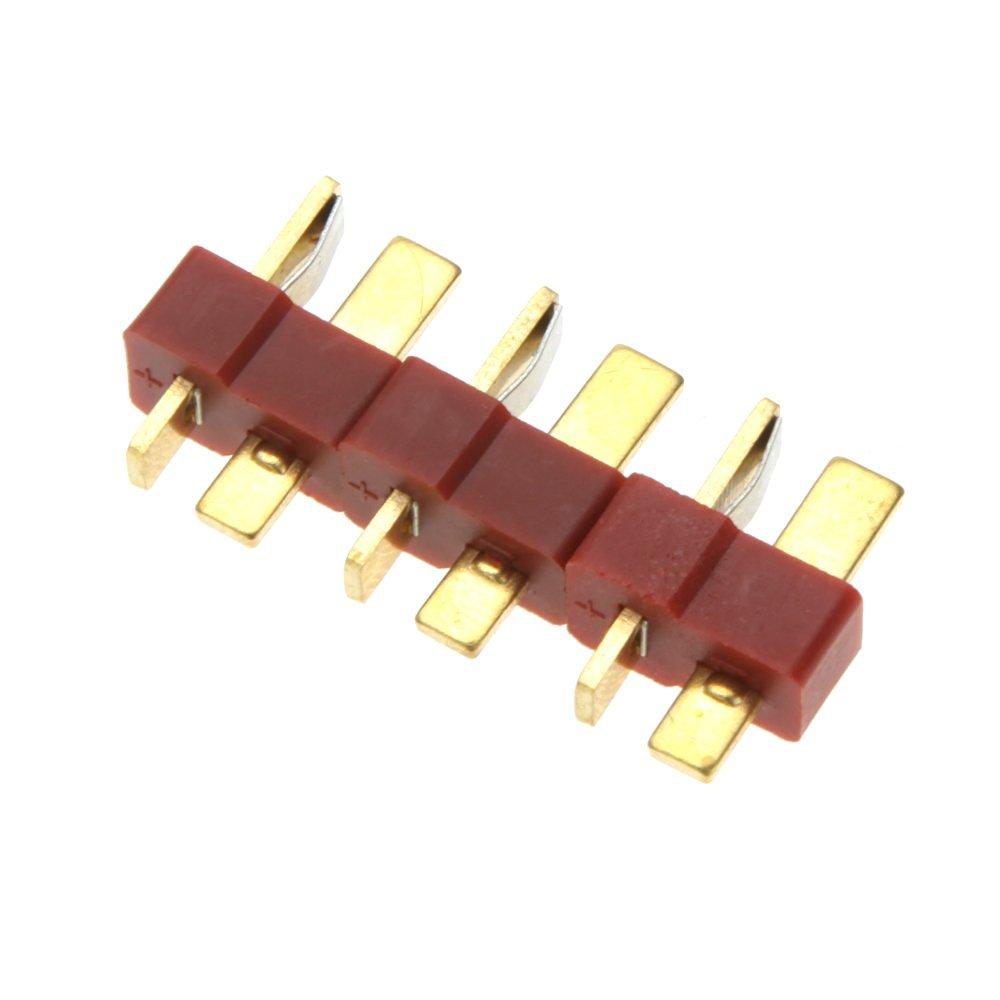 EverTrust(TM) 10 Pairs Universal RC Plane Part T Plug Male and Female Connectors for RC Lipo Battery ESC