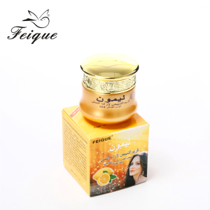 HOT! Feique natural skin care best african skin creams face lemon whitening cream