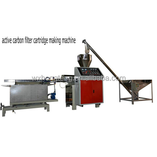 Filter Cartridge Machine For Chemical & Petrochemical Industry Water Treatment/ Carbon Block Filter Production line