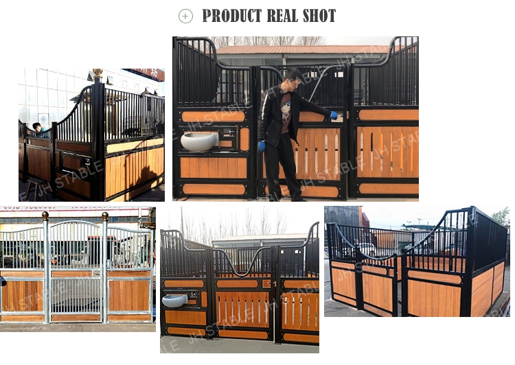 Aesthetic Powder Coated Horse Stables For Barns Metal Buildings