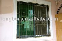 Top-selling modern style of wrought iron window grills