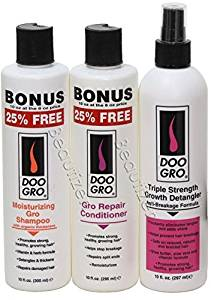 Doo Gro Trio Set Moisturizing Shampoo Repair Conditioner And Triple Strength