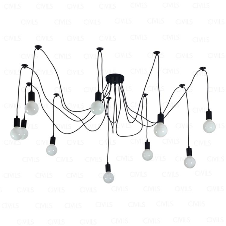 Edison Filament Bulbvintage Chandelierpendant Lamp
