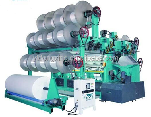 DX286 Double needle Bar Raschel Warp Knitting Machine,Textile Making Machine