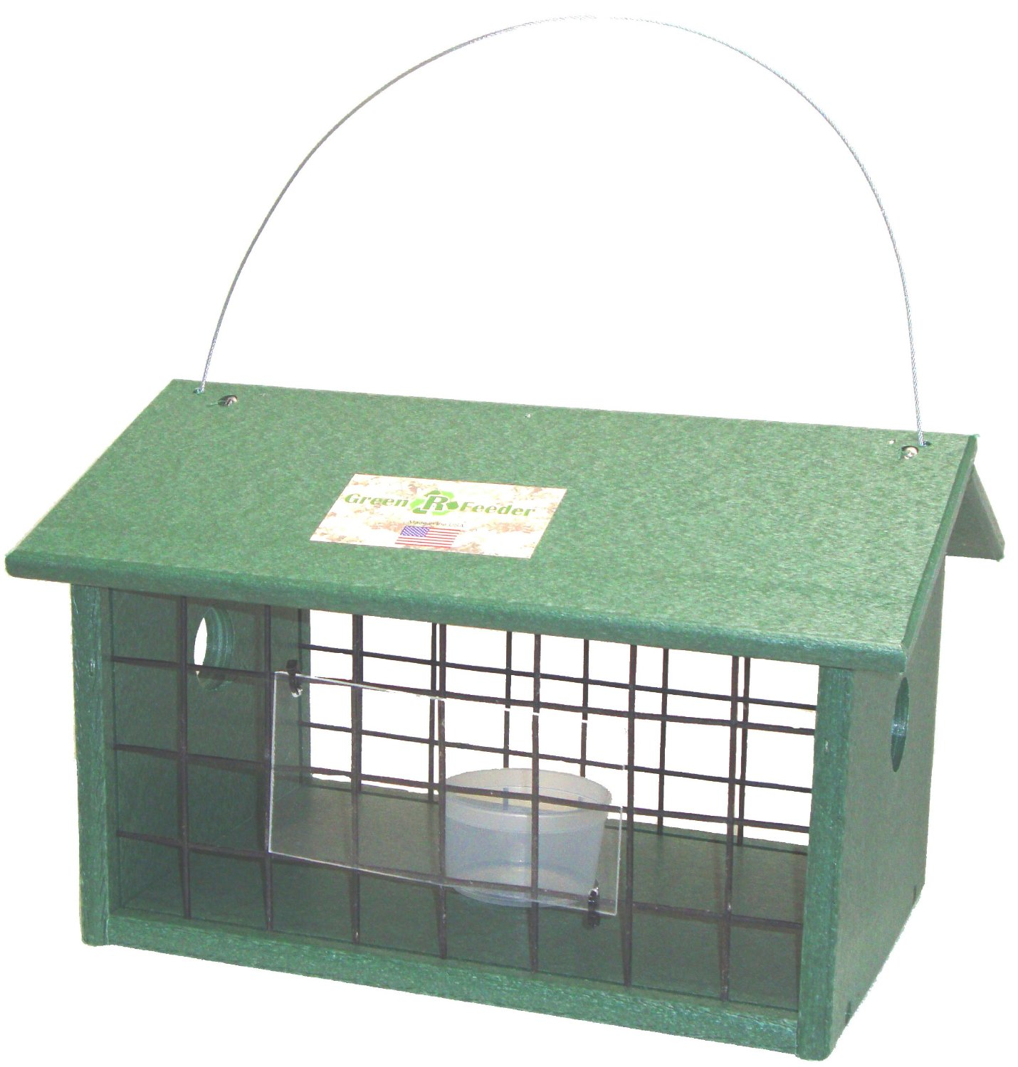Songbird Essentials SERUBMWJAIL Meal Worm Jail Bird Feeder