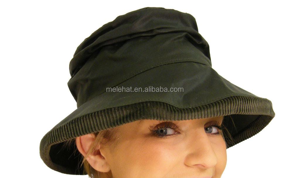 Custom Meidiney Waxed Boonie Wax Canvas Bush Bucket Hats - Buy Waxed ... 9da2b716dd1
