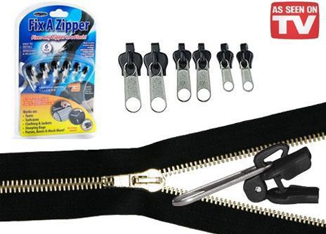 fix a zipper replacement repair broken slider teeth zip fix flash lazada malaysia. Black Bedroom Furniture Sets. Home Design Ideas
